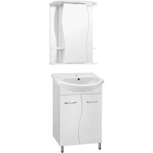 Фото - Мебель для ванной Style line Эко Волна №12 белая мебель для ванной style line эко стандарт 90 26 белая напольная