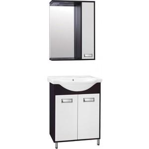 Фото - Мебель для ванной Style line Эко Стиль 60 W №9 белая, венге, напольная мебель для ванной style line эко стандарт 90 26 белая напольная