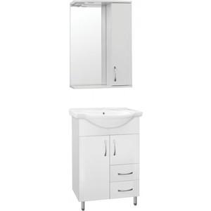 Фото - Мебель для ванной Style line Эко Стандарт №10/2 белая мебель для ванной style line эко стандарт 90 26 белая напольная