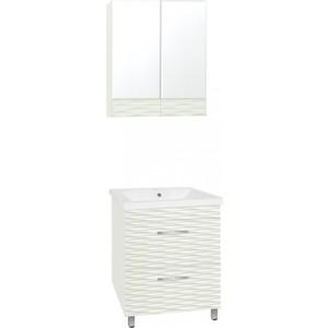 Мебель для ванной Style line Ассоль 60 техно платина