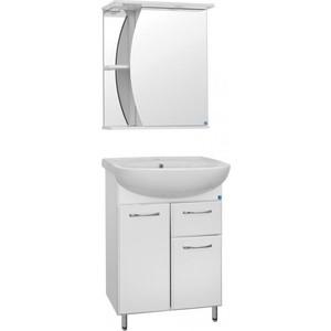 Мебель для ванной Style line Эко Волна 60 №11 белая, напольная