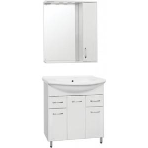 Фото - Мебель для ванной Style line Эко Стандарт 75 №26 белая, напольная мебель для ванной style line эко стандарт 90 26 белая напольная