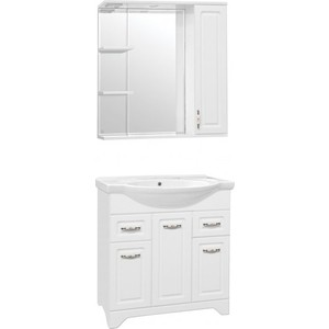 Мебель для ванной Style line Олеандр-2 75 белая