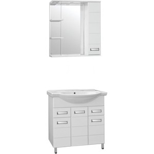 Мебель для ванной Style line Ирис 75 белая