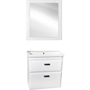 Мебель для ванной Style line Лотос Люкс 80 белая, подвесная