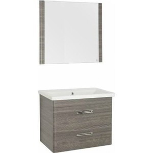 Мебель для ванной Style line Лотос 80 шелк зебрано