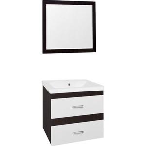 Мебель для ванной Style line Сакура 80 белый, венге