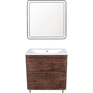 Мебель для ванной Style line Атлантика Люкс 80 старое дерево, напольная