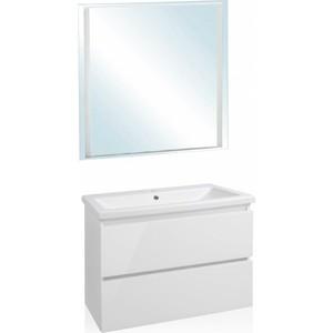 Мебель для ванной Style line Даймонд Люкс 80 белая