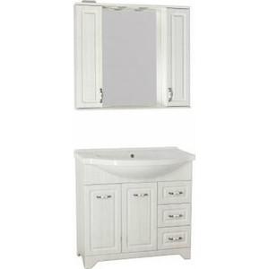 Мебель для ванной Style line Олеандр-2 90 рельеф пастель