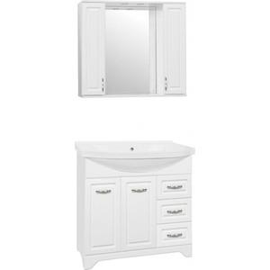 Мебель для ванной Style line Олеандр-2 90 белая