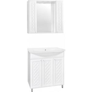 Мебель для ванной Style line Канна 90 белая
