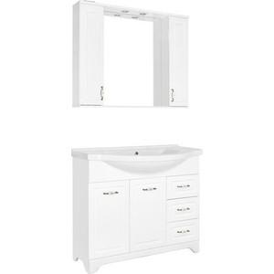 Мебель для ванной Style line Олеандр-2 100 белая
