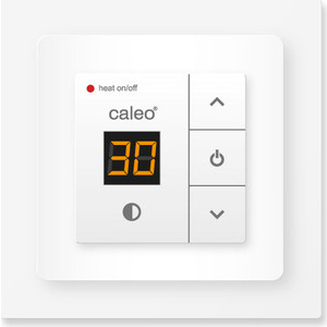 Терморегулятор CALEO CA 720 с адаптерами. Цвет: белый