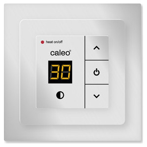 Терморегулятор CALEO CA 720 SILVER с адаптерами
