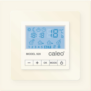 Терморегулятор CALEO CA 920 бежевый с адаптерами