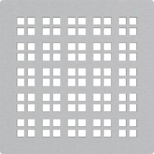 Решетка AlcaPlast нержавеющая сталь (MPV015)