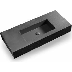 Раковины Acquabella Integra 100x46,5 черный (ENCIM.INTEGRA_100_C/F_SLATE_NEGRO)