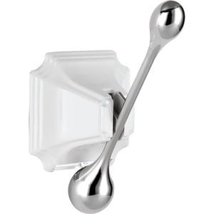Крючок Elghansa Hermitage белый/хром (HRM-900-White/Chrome) смеситель elghansa 1622519 white белый