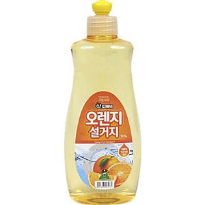 Средство для мытья посуды Sandokkaebi Апельсин, флакон, 500 г