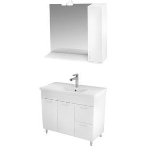 цена на Мебель для ванной Triton Джуно 100 белый R