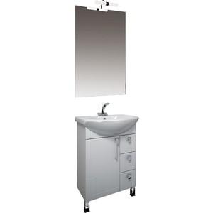 Мебель для ванной Triton Диана 70 белый R карниз нержавейка для ванны акриловой triton диана