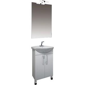 Мебель для ванной Triton Диана 55 белый карниз нержавейка для ванны акриловой triton диана