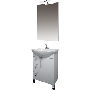 Мебель для ванной Triton Диана 55 белый L мебель для ванной triton