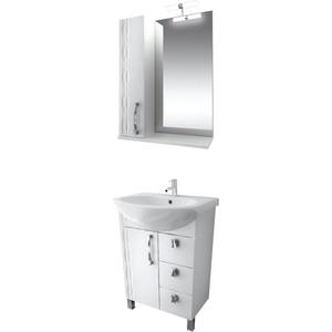 цена на Мебель для ванной Triton Кристи 65 белый R