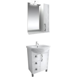 Мебель для ванной Triton Кристи 70 белый L цена в Москве и Питере