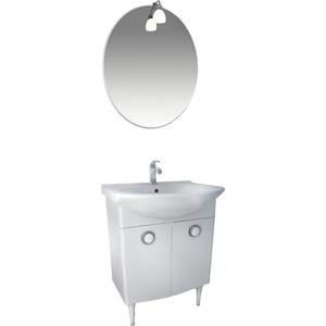Мебель для ванной Triton Лира 50 белый цена в Москве и Питере