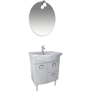 Мебель для ванной Triton Лира 60 белый R цена в Москве и Питере