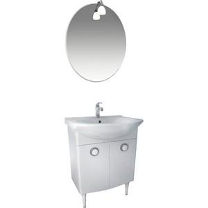 цена на Мебель для ванной Triton Лира 65 белый