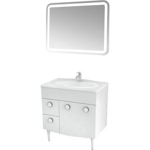 Мебель для ванной Triton Лира 80 белый L