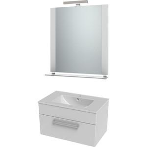 цена на Мебель для ванной Triton Ника 60 белый, 1 ящик