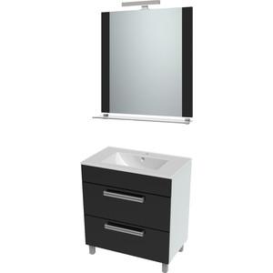 Мебель для ванной Triton Ника 60 черный, 2 ящика кронштейн для балконного ящика ingreen 2 шт