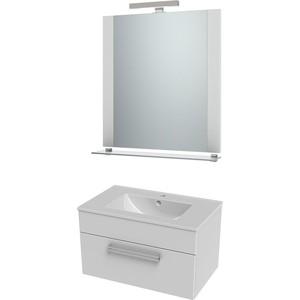 цена на Мебель для ванной Triton Ника 80 белый, 1 ящик