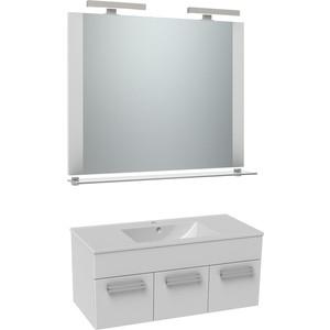 Мебель для ванной Triton Ника 100 белый, 3 ящика