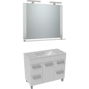 Мебель для ванной Triton Ника 120 белый, 1 дверь, 4 ящика для ванной дверь