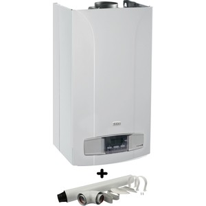 Комплект настенного газового котла BAXI LUNA-3 1.310 Fi (CSE45531366-) и коаксиального дымохода STOUT 100/60 850 мм (SCA-6010-210850)