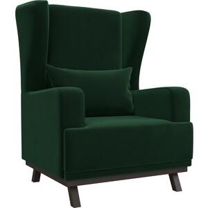 Кресло АртМебель Джон велюр зеленый