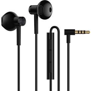 Наушники с микрофоном Xiaomi Mi Dual Driver Earphones Black mi earphones basic black