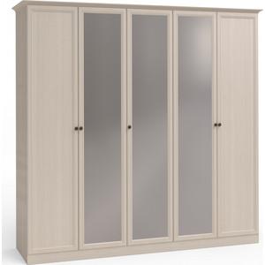 Шкаф 5-дверный (2 + 1 + 2) с 3 зеркалами Шатура Camilla FU3-01.T8L 482995