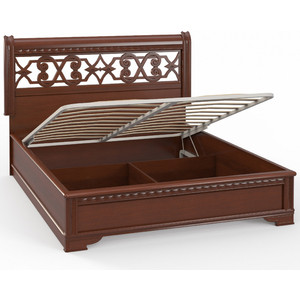 Кровать Шатура Dante AE8-01.Z1L 2-спальная с п/м (1600 мм) 485943