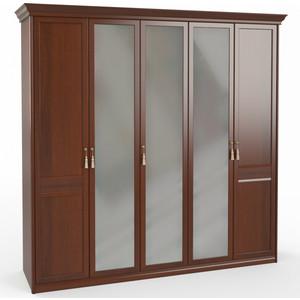 Шкаф 5-дверный (2 + 1 2) с зеркалом Шатура Dante FU3-01.Z1L 483547