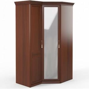 Шкаф угловой (1 + с зеркалом) Шатура Dante FU5-01.Z1L двери левые, ограничитель 484001