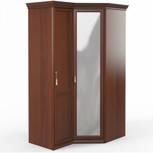 Шкаф угловой (1 + с зеркалом) Шатура Dante FU5-01.Z1L двери правые, ограничитель 484107