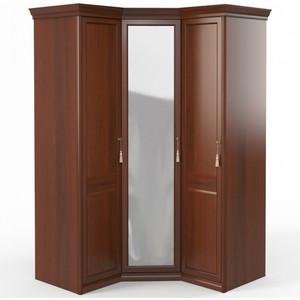 Шкаф угловой (1 + с зеркалом +1) Шатура Dante FU5-01.Z1L двери левые, ограничитель 484056