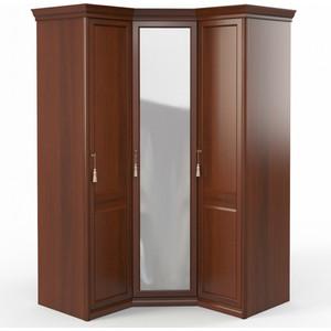 Шкаф угловой (1 + с зеркалом+1) Шатура Dante FU5-01.Z1L двери правые, ограничитель 484057