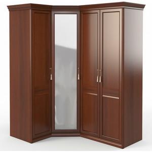 Шкаф угловой (1 + с зеркалом 2) Шатура Dante FU5-01.Z1L дверь левая, ограничитель 484060